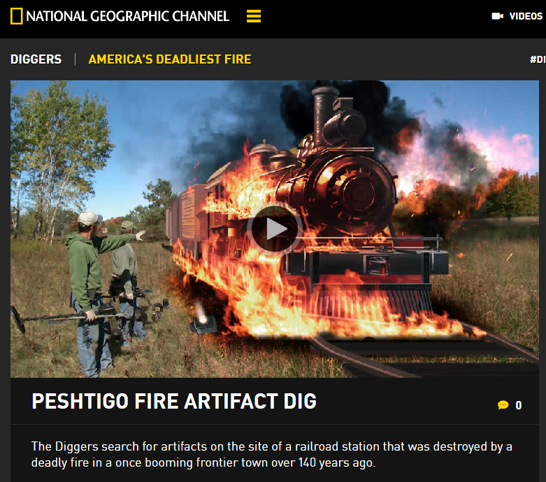 National Geographic Diggers comes to Peshtigo