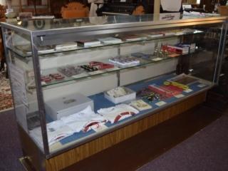 books and mementos available at the Peshtigo Fire Museum