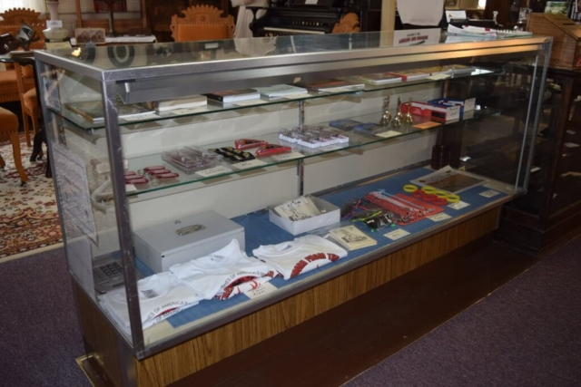 books and mementos available at the Peshtigo Fire Museum