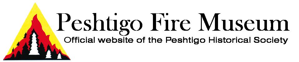 Peshtigo Fire Museum logo